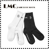 ◆LMC◆ BASIC LOGO SOCKS (BLACK / WHITE)