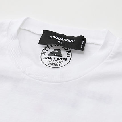 D SQUARED2 Tシャツ・カットソー DSQUARED2 半袖 Tシャツ S72GD0176 S22427 クルーネック(4)