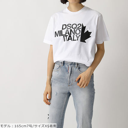 D SQUARED2 Tシャツ・カットソー DSQUARED2 半袖 Tシャツ カットソー S72GD0169 S22427(2)