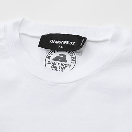 D SQUARED2 Tシャツ・カットソー DSQUARED2 半袖 Tシャツ カットソー S72GD0169 S22427(4)