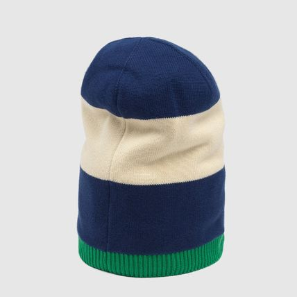 GUCCI ニットキャップ・ビーニー 【正規品保証】GUCCI★2020SS★KNIT HAT WITH INTERLOCKING G(3)