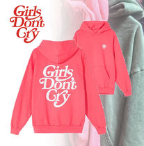 Girls Don't Cry GDC LOGO HOODY★PINK