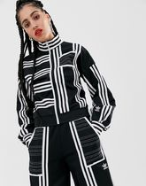 adidas Originals x Ji Won Choi mixed stripe balloon sleeve