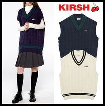 ★イベント/関税込★KIRSH★OVERFIT TWISTED KNIT VEST IA★2色