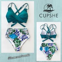 関税込★CUPSHE★TROPICAL PALMS TWIST-FRONT*ビキニSET(C289)
