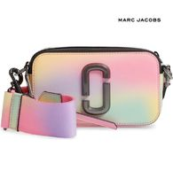 Marc Jacobs☆Snapshot Airbrushed Leather Crossbody