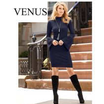 VENUS☆ニットワンピ SLEEVE DETAIL SWEATER DRESS