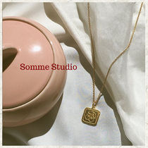 [Somme Studio]cherry coin necklace コインネックレス 2色