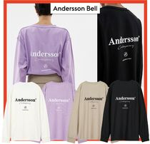 【ANDERSSON BELL】ANDERSSON SIGNATURE LOGO L/S T-SHIRT★4色
