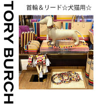 TORY BURCH★GIFT GIVING DOG 首輪&リード☆犬猫用☆