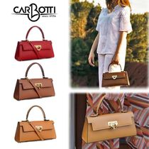 2Way レザーバッグ ☆ 送料/関税込【CARBOTTI】Cary 242