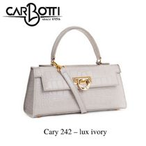 2Way クロコレザーバッグ ☆ 送料/関税込【CARBOTTI】Cary 242