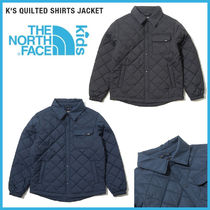 THE NORTH FACE★19-20AW K'S QUILTED SHIRTS JACKET_NJ3NK57