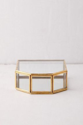 Urban Outfitters 棚・ラック・収納 Urban Outfitters ジュエリーボックス アクセサリー 収納 ガラス(6)