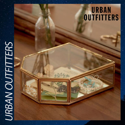 Urban Outfitters 棚・ラック・収納 Urban Outfitters ジュエリーボックス アクセサリー 収納 ガラス