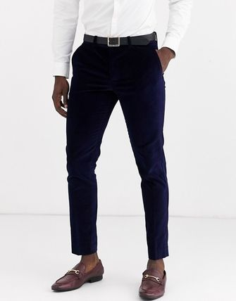 ASOS スーツ スーツ2点セットSelected Hommeベルベットスリムセットスーツ(2)
