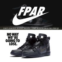 FORTY PERCENT AGAINST RIGHTS × NIKE SB DUNK HIGH PRO PRM QS