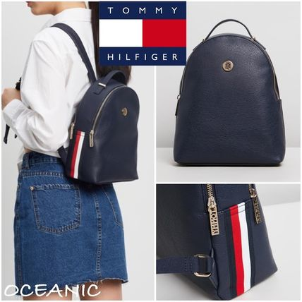 Tommy Hilfiger バックパック・リュック 【Tommy Hilfiger】Core Small Monogram ロゴ入り バックパック