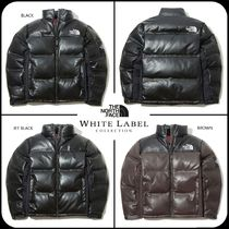 [THE NORTH FACE] ★19AW NEW★LEATHER NUPTSE DOWN JACKET ★