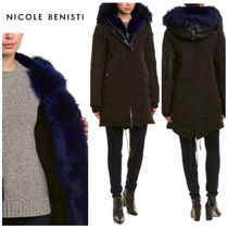 【Nicole Benisti】お早めに!!●Madison Leather-Trim Down Coat