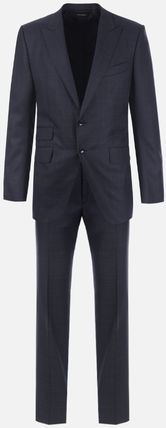 TOM FORD スーツ 【TOM FORD】O'CONNOR TWO-PIECES SUIT IN PRINCE OF WALES WOOL