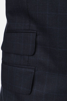 TOM FORD スーツ 【TOM FORD】O'CONNOR TWO-PIECES SUIT IN PRINCE OF WALES WOOL(7)