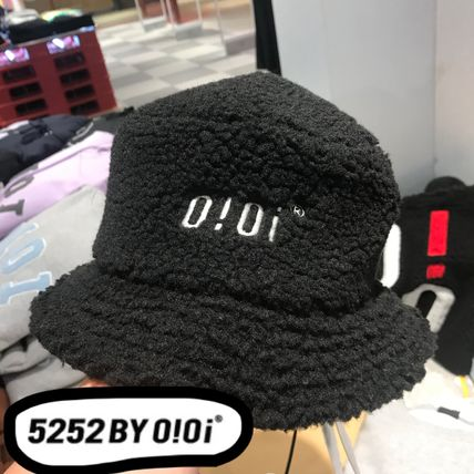 oioi korea ハット 2019FW【5252 by OiOi】SHEARLING BUCKET HAT★バケットハット