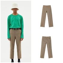 ANDERSSON BELLのETHAN CHECK SUIT PANTS apa271m