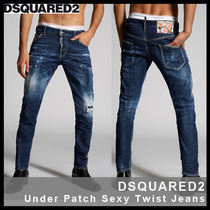 【D SQUARED2】Under Patch Sexy Twist Jeans 74LB0596