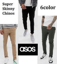 日本未入荷◆ASOSDESIGN◆Super Skinny chinos/6color