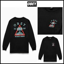 19-20AW! ★ OBEY ★ Outsider Paradise Long Sleeve T-Shirt