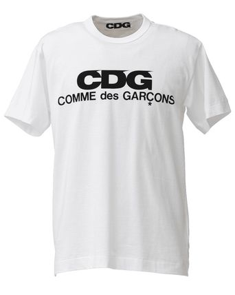 COMME des GARCONS Tシャツ・カットソー [即発] COMME des GARCONS CDG ロゴ カットソー Tシャツ(2)