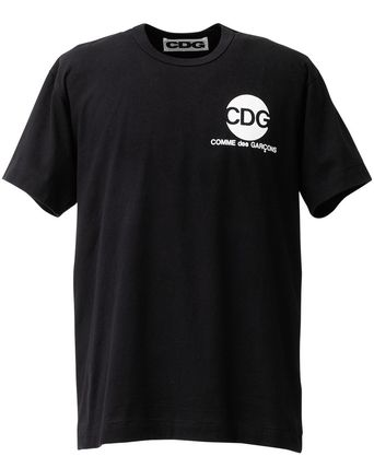 COMME des GARCONS Tシャツ・カットソー [即発] COMME des GARCONS CDG ロゴ カットソー Tシャツ(5)