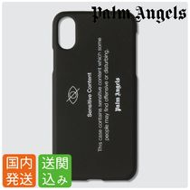 送関込★Palm Angels★Sensitive Content ロゴ iPhoneケース