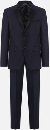 GIVENCHY スーツ 【GIVENCHY】WOOL AND MOHAIR TUXEDO SUIT