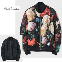 "Paul Smith◇""New Masters"" プリント MA-1"