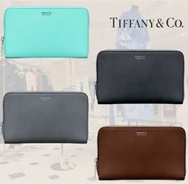 **TIFFANY&CO**ティファニー★Zip Travel Wallet★長財布