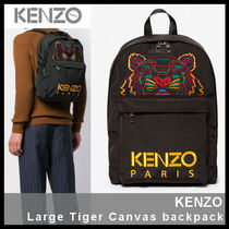 【KENZO】Large Tiger Canvas backpack F85 5SF300 F20 99C