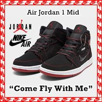 Nike Air Jordan 1 Mid Fearless Come Fly With Me 2019 AW FW