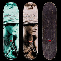 FW19 SUPREME IS LOVE SKATEBOARD DECK スケートボード 全色
