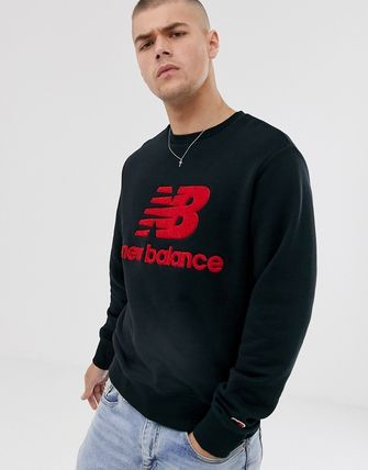 UNDER ARMOUR  トップスその他 New Balance Athletics sweat in black