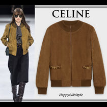 RUNWAY LOOK33◇Mock Neck ブルゾン◇CELINE