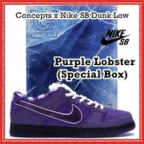 Concepts x Nike SB Dunk Low Pro Purple Lobster Special Box