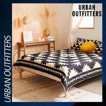 Urban Outfitters 掛け布団 キルト 綿 コットン リバーシブル
