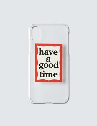 have a good time スマホケース・テックアクセサリー 【HAVE A GOOD TIME】フレーム ロゴ iPhone X/XS ケース(3)