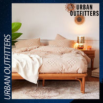 Urban Outfitters 掛け布団 カバー ピンク 綿 フルクイーン