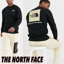 *THE NORTH FACE*バックボックスロゴスウェット 黒