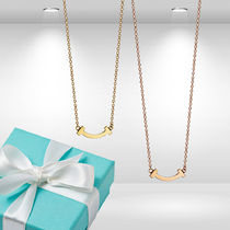 Tiffany - Smile Pendant Yellow or Rose Gold
