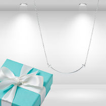 Tiffany - Smile Pendant Sterling Silver Small