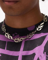 JADED LONDON SILVER FLAME CHOKER フレイムチェーカー